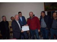 Lapseki'de Avcılık Kursunu tamamlayan kursiyerler belgelerini aldı