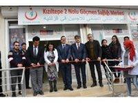 Kızıltepe'de 2 No'lu Göçmen Sağlığı Merkezi hizmete girdi