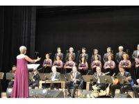Biga Belediyesi Türk Halk  Müziği Korosu'ndan  konser
