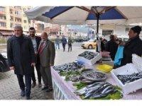 """Of Belediye Başkanı Sarıalioğlu: """"Her zaman vatandaşlarımızla iç içeyiz"""""""