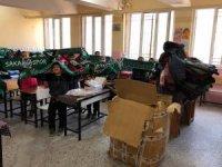 Tatangalardan Şırnaklı öğrencilere anlamlı yardım