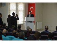 Erzincan'da bağımlılıkla mücadele toplantısı yapıldı