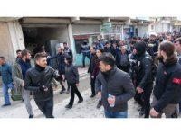 Polis HDP'li milletvekillerin yürüyüşüne izin vermedi