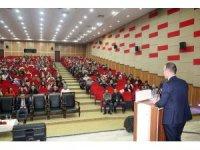 Ağrı Milli Eğitim Müdürü Tekin aday öğretmenlerle bir araya geldi