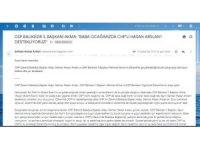 CHP'li aday yalan haber üreterek halkı yanıltmaya çalıştı