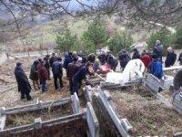 'Mavi Balina' yüzünden intihar ettiği iddia edilen Burak son yolcuğuna uğurlandı