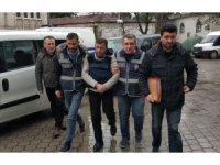 Samsun'da cinayet zanlısı tutuklandı