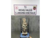 Tarihi heykeli 1.7 milyona satmak isterken yakalanan şahıs serbest bırakıldı