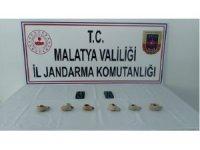 Malatya'da Roma dönemine ait tarihi eserler ele geçirildi
