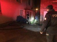 Kalorifer kazanındaki yangın itfaiye ekiplerince söndürüldü