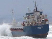 'FEHN LYRA' isimli gemi, Karadeniz'de karaya oturdu
