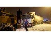 Erzurum'da etkili olan sis trafik kazalarına neden oldu