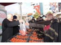 Balıkesir'de ilk tanzim satış noktası açıldı