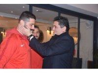 Aliağaspor FK zorlu deplasman öncesi moral depoladı