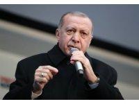 """Cumhurbaşkanı Erdoğan: """"Biz ülkemize çağ atlattık. Karşımızda tek parti döneminin istismarcı siyasetinde direnen CHP var"""""""