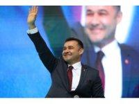 Başkan Yücel'in seçim koordinasyon merkezi törenle açıldı