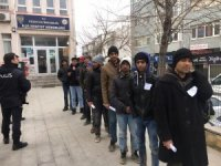 Edirne'de 11 kaçak göçmen yakalandı