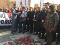 Sivil memurlardan saldırının yıl dönümünde Merasim Sokak'ta açıklama