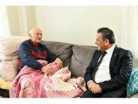 95 yaşında 65 torun sahibi emekli emniyet müdürü