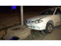 Kırıkkale'de sürat kaza getirdi: 2 yaralı