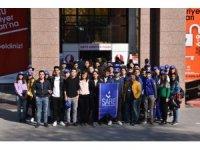 Sare Koleji öğrencileri ODTÜ'yü geziyor