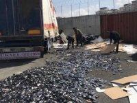 Van polisi 2018 yılında 1 milyon 697 bin paket kaçak sigara ele geçirdi