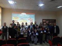 Biga'da Akıl ve Zeka Oyunları Turnuvası finalistleri ödüllendirildi