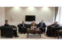 (Düzeltme) AK Parti vekilleri Bakan Yardımcısı Güven'le görüştü