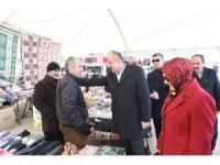 """Esnafla buluşan Başkan Babaş: """"Yeni Kapalı Pazar projelerimiz hazır"""""""