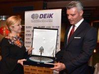 DEİK, Hırvatistan Cumhurbaşkanı Kitarovic'i ağırladı