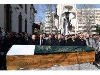 Bakan Turhan, emekli tarih öğretmenin cenaze törenine katıldı