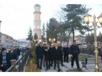 Bakan Selçuk Tokat'ta esnaf ve vatandaşlarla buluştu