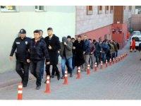 Kayseri'de FETÖ'den gözaltına alınan 13 kişi adliyeye çıkarıldı