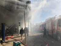 Şanlıurfa'da bir iş yerinde çıkan yangın kontrol altına alındı