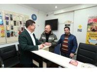 Başkan Subaşıoğlu'na CHP'li aileden destek