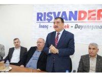 Gürkan, Rışvan-Der'i ziyaret etti