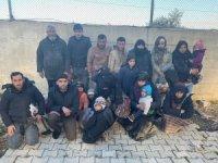 Hatay'da göçmen kaçakçısına suçüstü