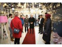Ümraniye Belediye Başkan adayı İsmet Yıldırım, esnafı ziyaret etti