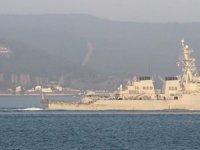 ABD destroyeri Karadeniz'e dönüyor