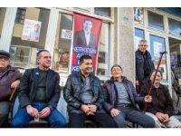 CHP Kuşadası Belediye Başkan Adayı Ömer Günel, İkioluklu'yu ziyaret etti