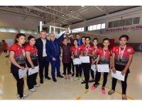 Osmaniye'de voleybol birinciliği sona erdi
