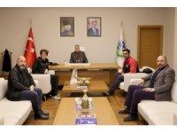 """Başkan Toçoğlu: """"Milli yüzücümüzle gurur duyduk"""""""