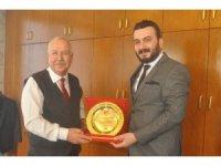 Hakem ve Gözlemcilerden Başkan Akdemir'e ziyaret