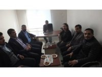 AK Parti Mardin İl Başkanı Kılıç'tan İHA'ya ziyaret