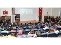 Türk Hava Yolları CEO'su Bilal Ekşi ERÜ'de Konferans Verdi
