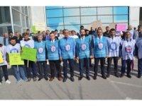 Malatya Sağlık-Sen'den 'Döner Sermaye' eylemi