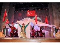 Devlet Halk Dansları Topluluğu'nun Karabük'teki gösterisine büyük ilgi