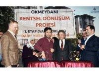 Türkiye'nin en büyük kentsel dönüşüm projesinde birinci etap kuraları çekildi