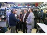 Başkan Palancıoğlu Hunat Çarşısında