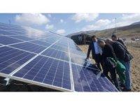 Güneş enerjisinden 90 bin lira gelir sağlayacak